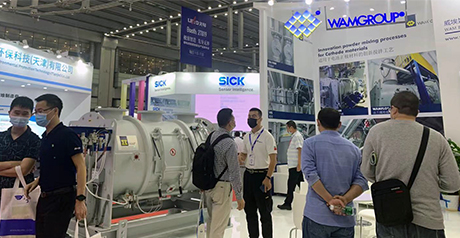 WAM CHINA AT CHINA INTERNATIONAL BATTERY FAIR