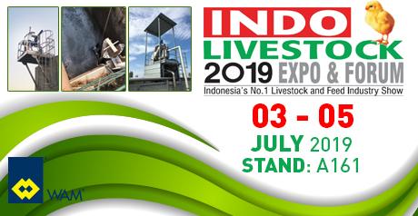 sepcom screw press separators agitators and pumps at indo livestock 2019