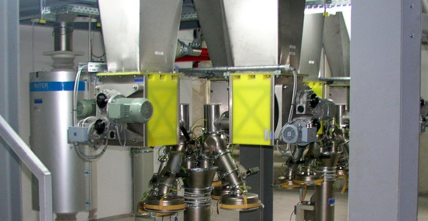 Micro-Batch Feeders with Agitator MBF - star feeder,powder dosing