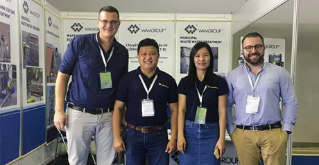 WAMGROUP at VietWater in Ho Chi Minh City, Vietnam