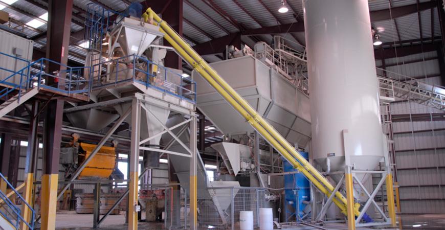 Cement Screw Conveyors and Feeders ES - mechanical conveyor