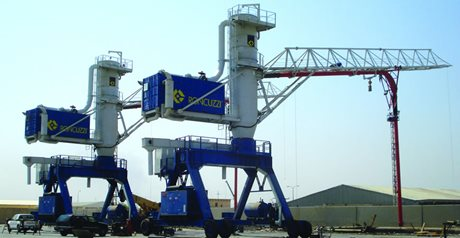 RONCUZZI Ship Unloaders for Iraq