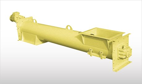 Tubular Trough Screw Conveyors - CAO